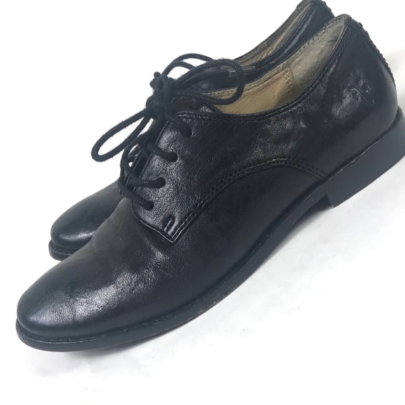 83b61f2142f Frye Shoes - Frye Melissa Derby Oxford size 5.5 Black Leather